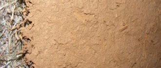 глинянная штукатурка на солому