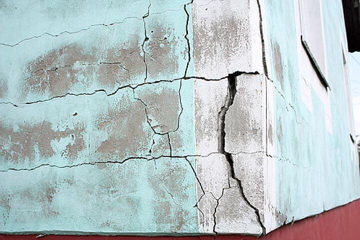 трещины штукатурки газобетона