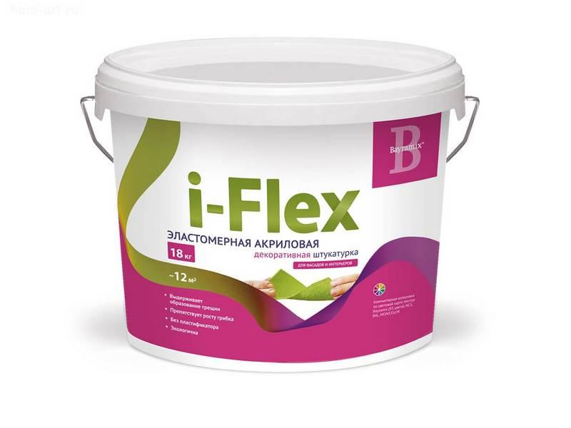 штукатурка iflex в ведре