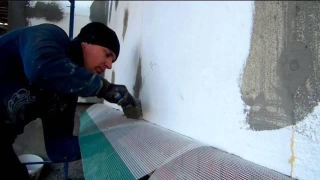 подготовка стены к штукатурке
