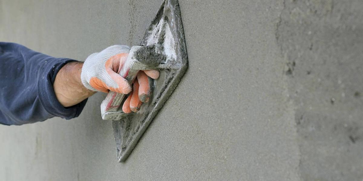 штукатурка по бетону