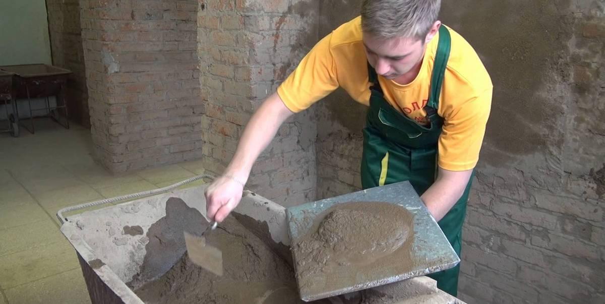 цемент для штукатурки
