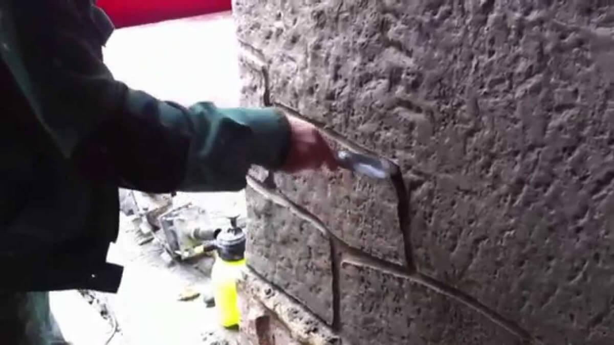 штукатурка под камень своими руками