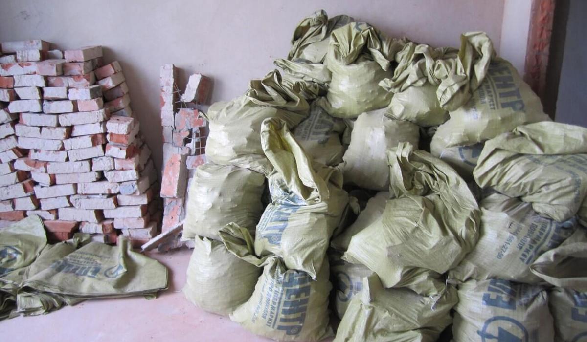 вывоз мусора от штукатурки
