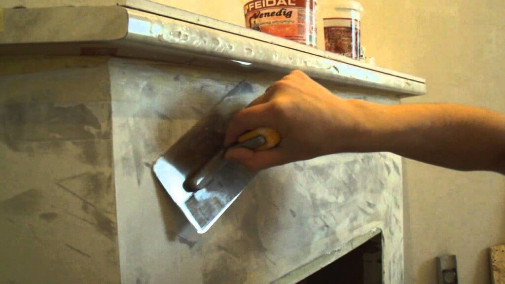 техника штукатурки печи