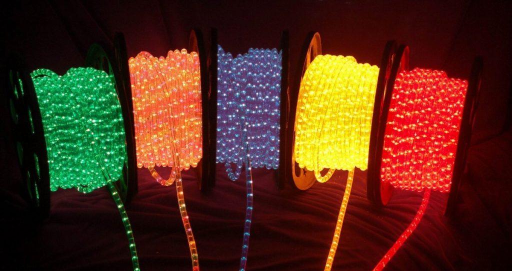 лампы из дюралайна